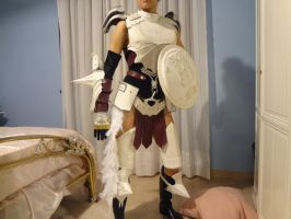 Armor Lightning Final Fantasy XIII-2 by Farron-Lightning