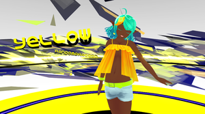 MMD Yellow VIDEO LINK by RandomDraggon