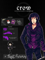 || App|| Crow || Jude Fitzroy by boytomonster