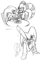 Eating spaghetti by seiya712
