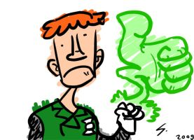 Guy Gardner GL by LeSam