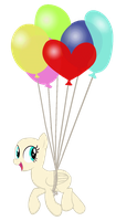 Balloon pony -base- by Pr1m