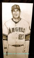 Mike Trout Artwork by emmatai88