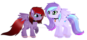 Pegasisters~ My style (Kinda~) by Urufei