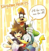 KH: All for one One for all by raveeoftitans