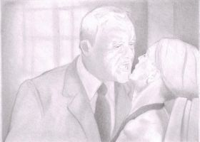 Hannibal and Clarice (Hannibal) WIP by Isaacsporcaelus