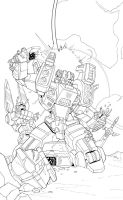 Weirdwolf: IDW Cover Contest by ZeroMayhem