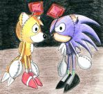 Tails Doll and Tim Doll by sapsanka