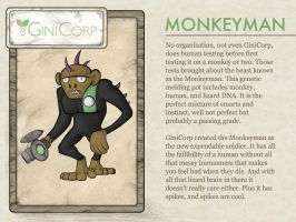GiniCorp - Monkeyman by Tydar