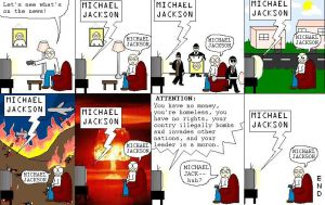 Michael Jackson by skippycartoons