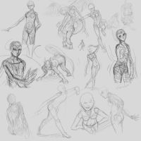 poses by catwell