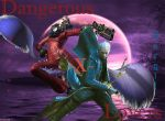 Vergil and Jeanne: Lovers by ArtMaster09