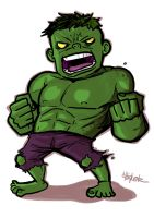 Little : Hulk by ChickenzPunk