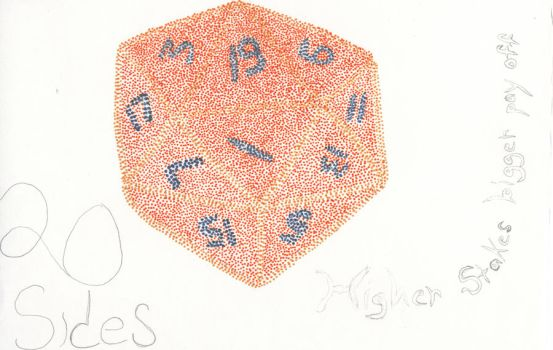 20 Sided Dice by vgp