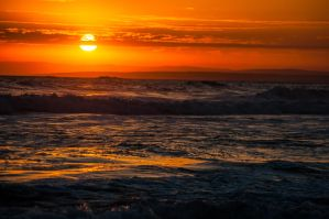 13th Beach Sunset 3 by DanielleMiner