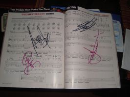BEHEMOTH SIGNED MY MAG 8D by naruto-kira-lelouch