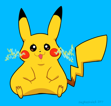 PIKA!!!!!!! by stephastated