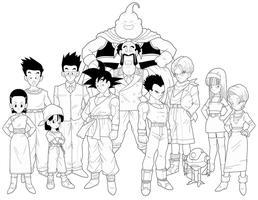 Dragon Ball GT 4th preview by drozdoo