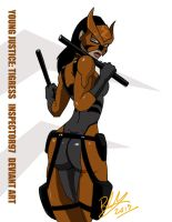 Young Justice: Tigress by Inspector97