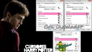 Harry Potter Cursors by Cursorsandmore