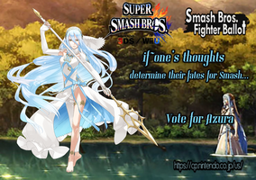 The Mysterious Nohr Songtress: Azura for Smash! by Militron623