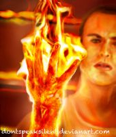 Flame On? - The Human Torch by DontSpeakSilent