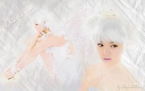 Wall Sayumi White ver. 1 by RainboWxMikA