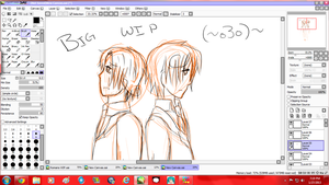 Oh hey look-- Unfinished art. by The-Southern-Italian