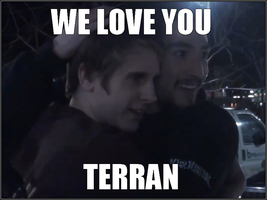UberHaxorNova [ and ] SSoHPKC - We Love You Terran by CreatureHub-Laughs