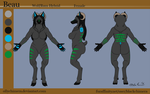 Commission - Beau Reference Sheet by OllyChimera