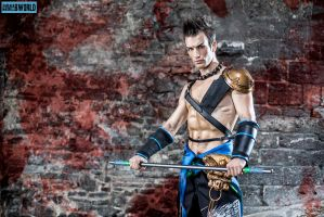 No Escape - Jann Lee DoA 5 Cosplay by Leon Chiro by LeonChiroCosplayArt