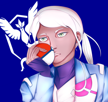 Blanche by fob-love-panic