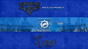 Youtube Banner Anniversary Gamers by FamaGFX