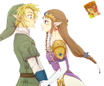 Render Link x Zelda by HeyLinkListen