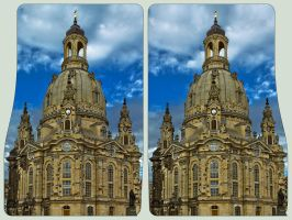 Frauenkirche 3D ::: Architectural HDR Stereoscopy by zour