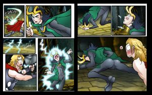 LOki DAT ASS by theperfectbromance