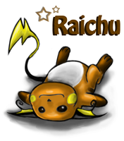 Raichu by Eyeless1703