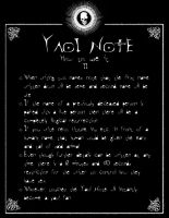 DN - Yaoi Note Page 2 by Taymeho