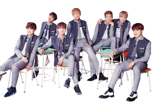 BTS High School Uniform PNG by superseoul11