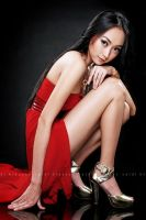 in RED by hokusfokusart