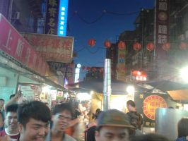 Taiwan: Raohe Night Market by thingy-me-jellyfis