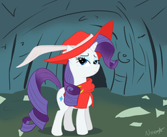 Red Mage Rarity by lostallreason