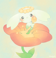 little tiny baby garden fairy by Kiwibon
