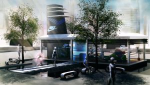 Future Nike Store by tschreurs