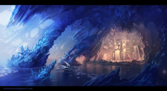 Ice Cave by Azot2017
