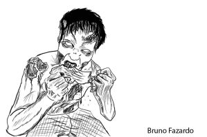 TWD Zombie by libregon
