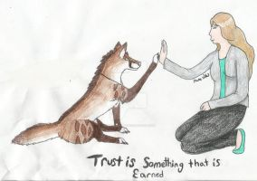Trust can't be just given.. by NamesisWolf
