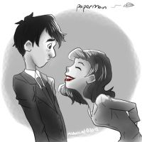 Paperman by MidoriLied