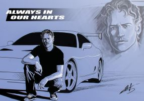 Paul Walker by vitalik-smile