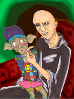 Voldemort and Dobby's Moment by Nar-Amarth